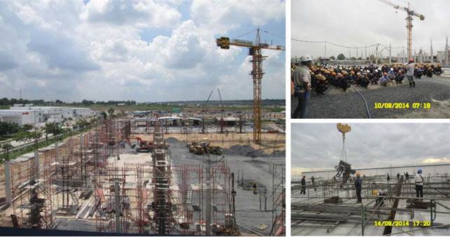 Dự án nhà máy của Công ty TNHH Mitsuba M-Tech Việt Nam-Giai đoạn II
